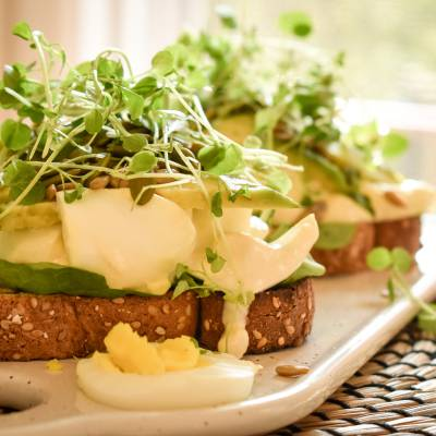 TRULY ENERGIZING EGG TOASTS