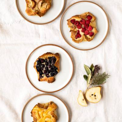 Danish-Style Fruit & Almond Spread Pastries